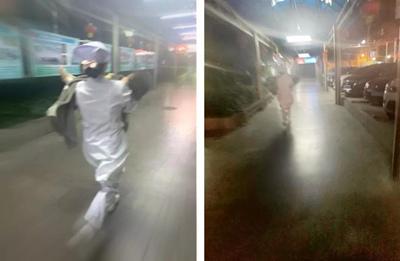 """过路护士""""爆发牛力"""" ,抱起患儿百米冲刺送医!【揭阳日报】"""